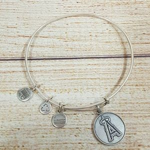 💎BOGO Alex & Ani Angels Baseball Bangle Bracelet